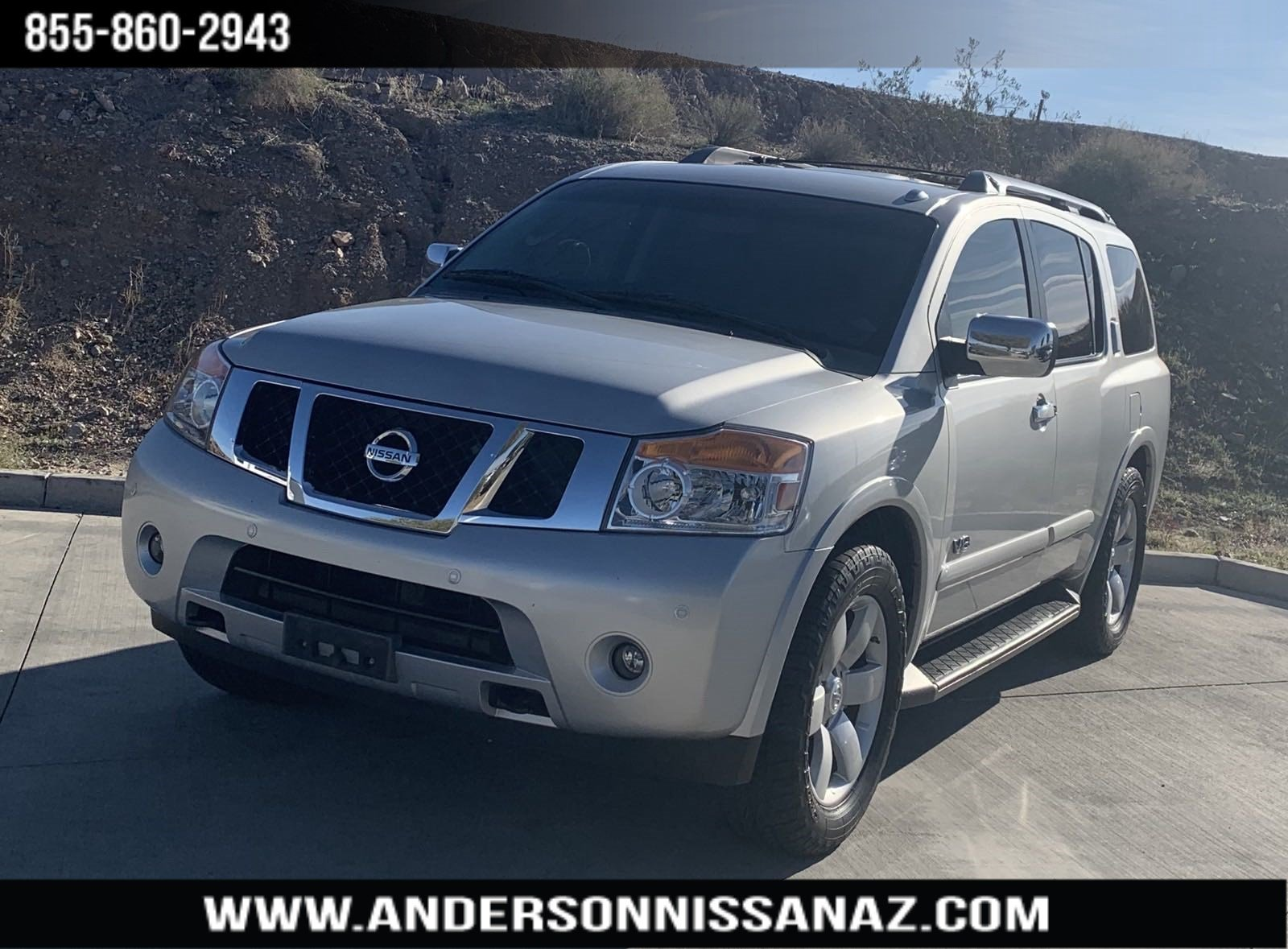 Pre-Owned 2008 Nissan Armada