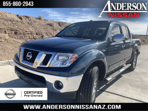 Certified Pre-Owned 2013 Nissan Frontier SL