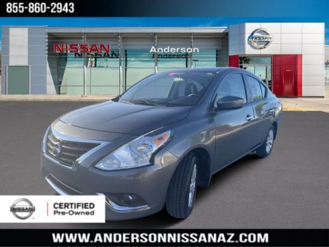 Certified Pre-Owned 2018 Nissan Versa 1.6 SV