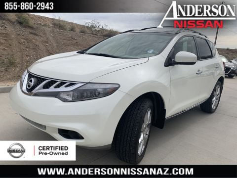 Certified Pre-Owned 2014 Nissan Murano Platinum